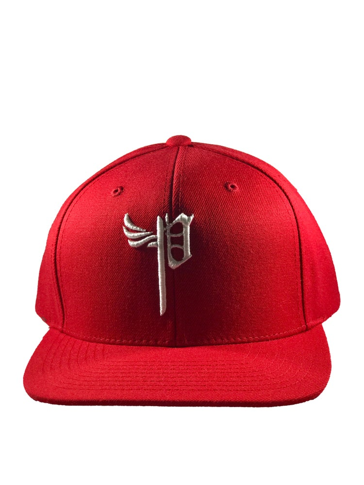 "Image of ""P Snap Backs-Red"