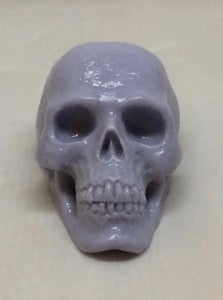 "Image of ""Lavender"" Colored Resin Mini Skull"