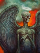 "Image of ""Angel"" Canvas Giclee 11x14"""
