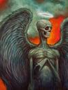 """Angel"" Canvas Giclee 11x14"""