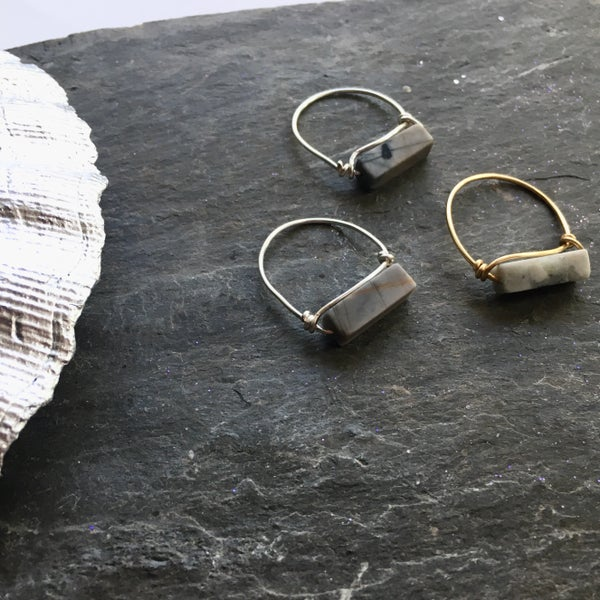 Image of Pavement Rings - Jasper Stone SOLD OUT