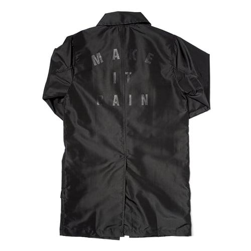 "Image of LANSI ""Midnight"" Trench Jacket"