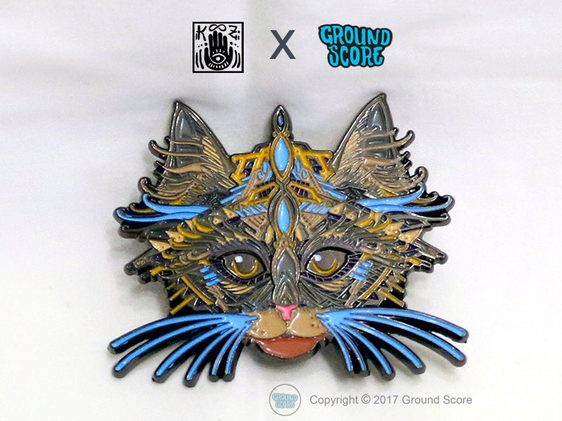 Image of KOOZ - King of Cats 3D Magnet (LE 100)
