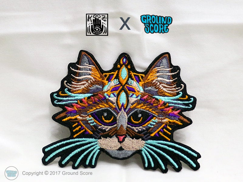 Image of KOOZ - King of Cats Patch