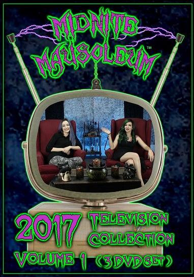 Image of Midnite Mausoleum TV2017 Volume 1 (3 DVD set)