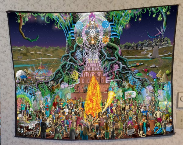 Image of Psytopia Part One Tapestry [SOLD OUT]