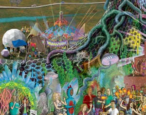 Image of Psytopia Part One Tapestry