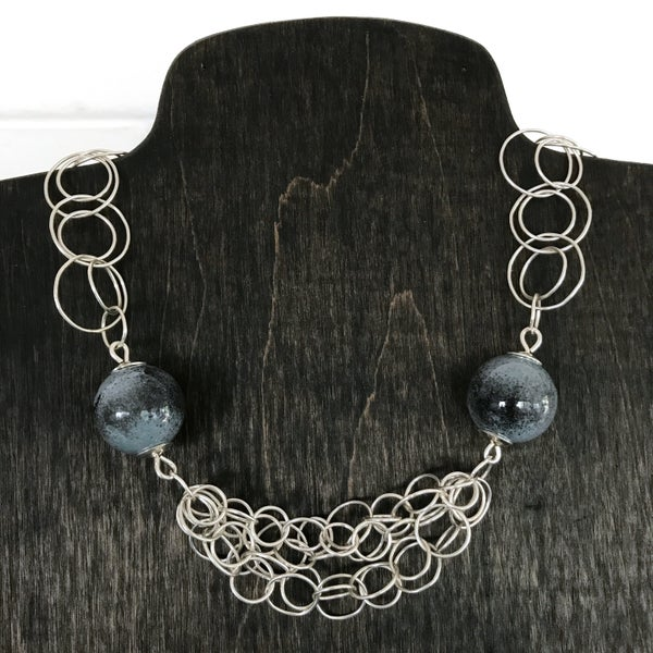 Image of Beads and Bubbles Necklace