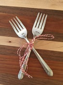Image of Wedding Cake Fork Set