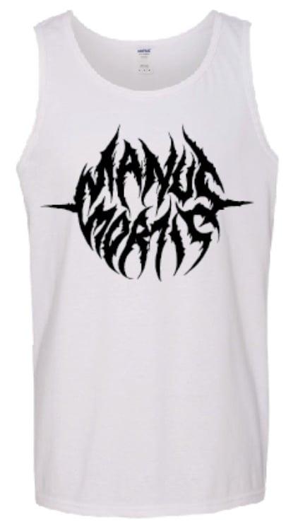 Image of New Logo Tank - Black on White
