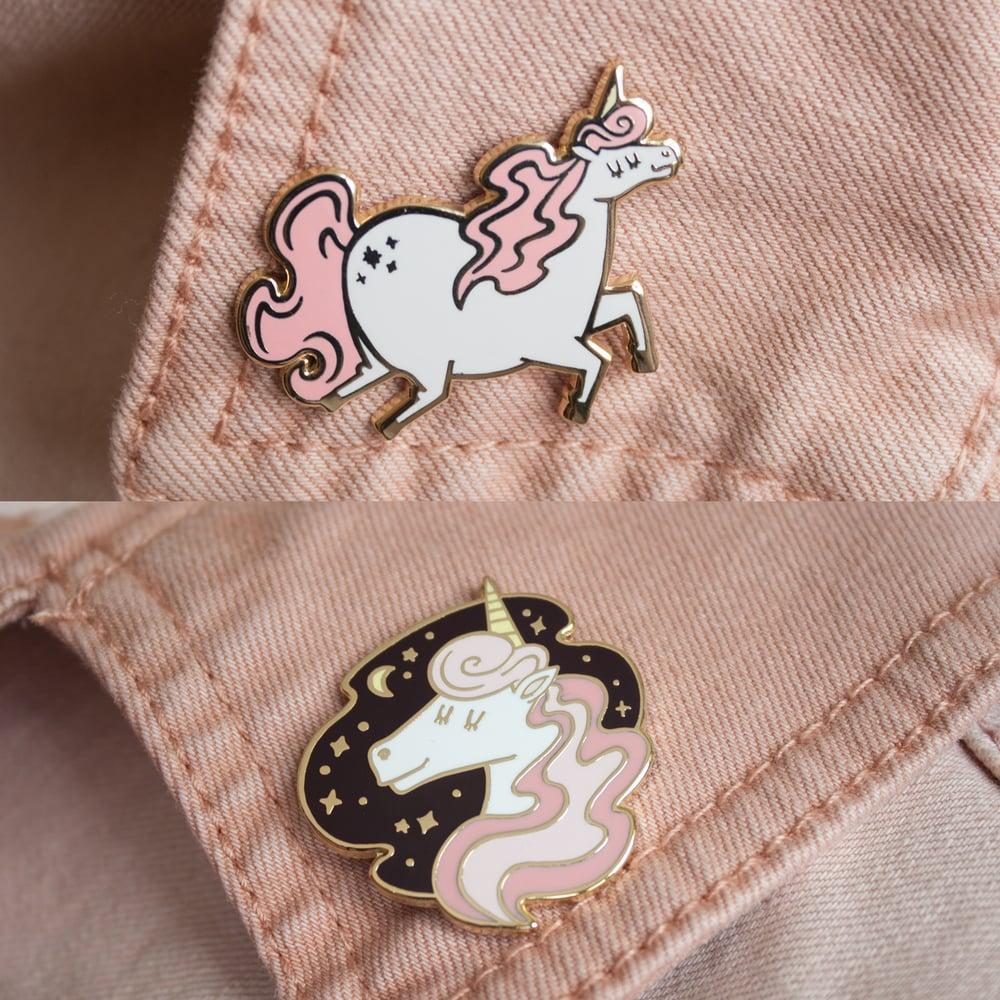 Image of Magical Unicorn Pin Duo