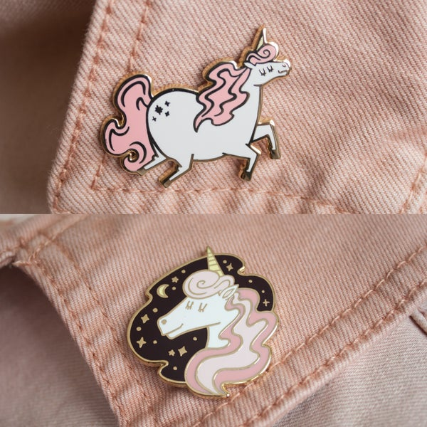 Image of Magical Unicorn Pin Duo