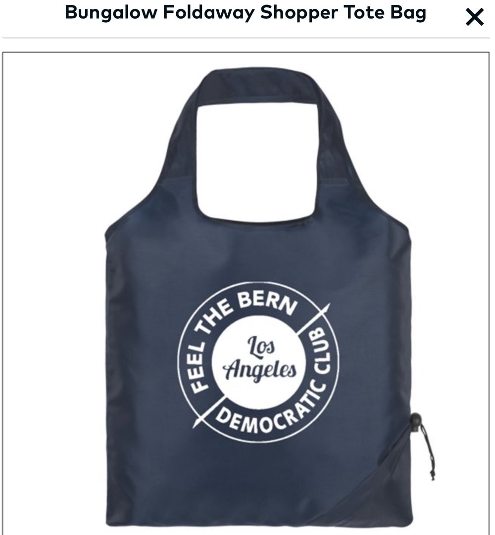 Image of Feel the Bern Shopping bag