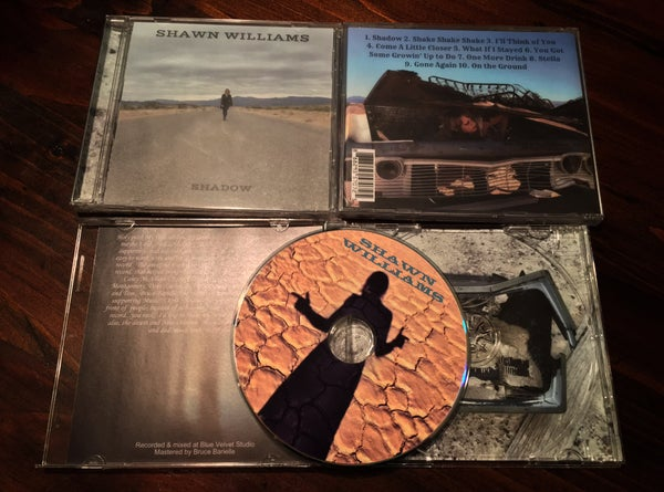 "Image of Shawn Williams ""Shadow"" Physical CD"