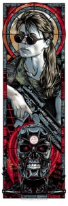 Image of CONNOR - ARCHANGEL CONNOR OF THE APOCALYPSE art print