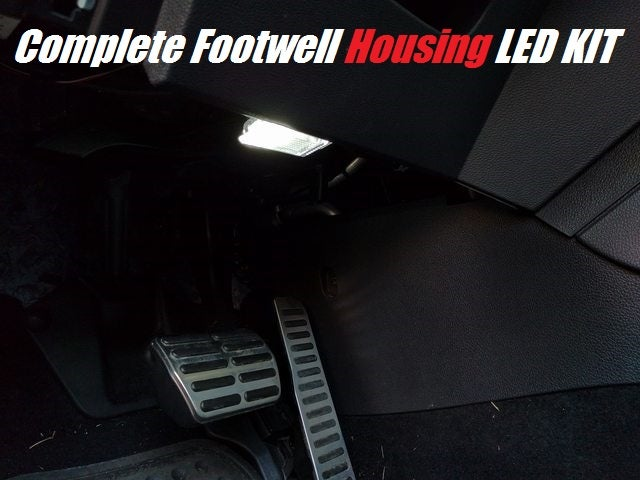 Image of Complete Footwell Housing & Wiring Choose from a 4pc or 2pc kit fits: All VW/Audi models