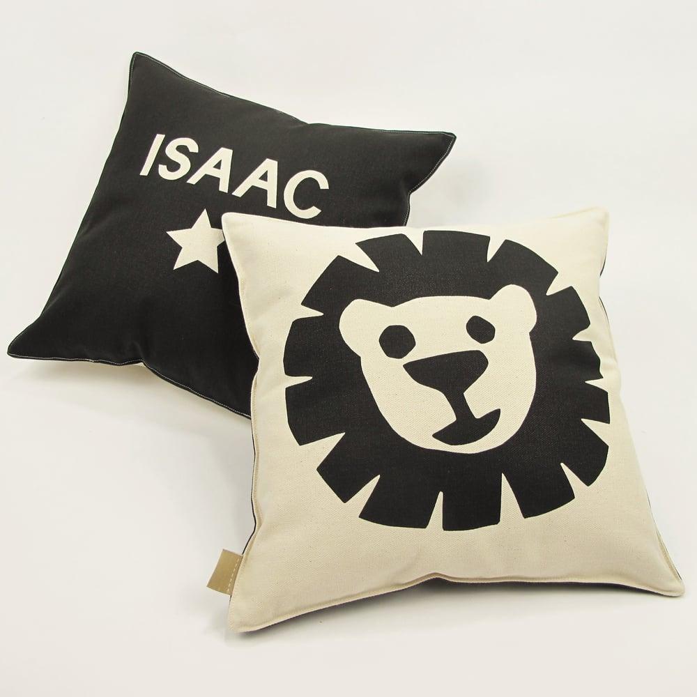 Image of Personalised Lion Cushion