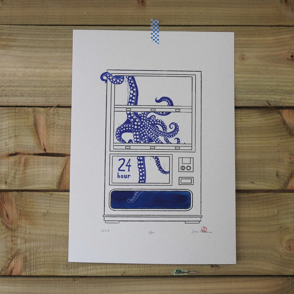 Image of Octopus Vending Machine (Limited Edition of 10)