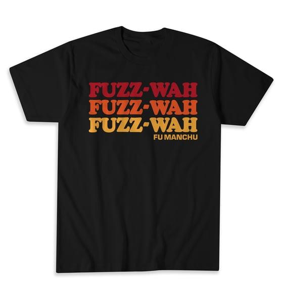 """Image of Fu Manchu """"fuzz-wah"""" shirts"""