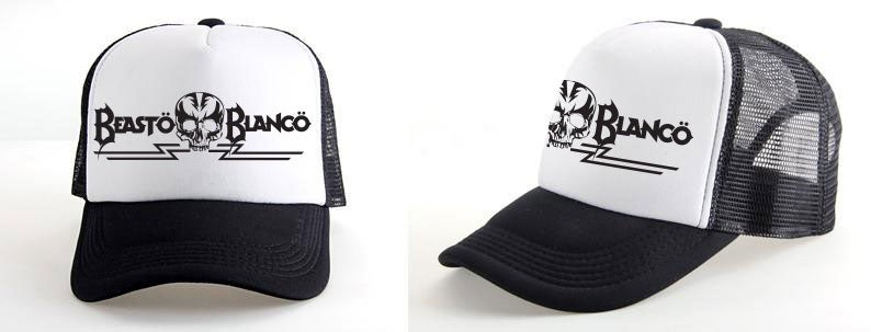 "Image of OFFICIAL - BEASTO BLANCO - ""SKULL"" LOGO BLACK HAT"