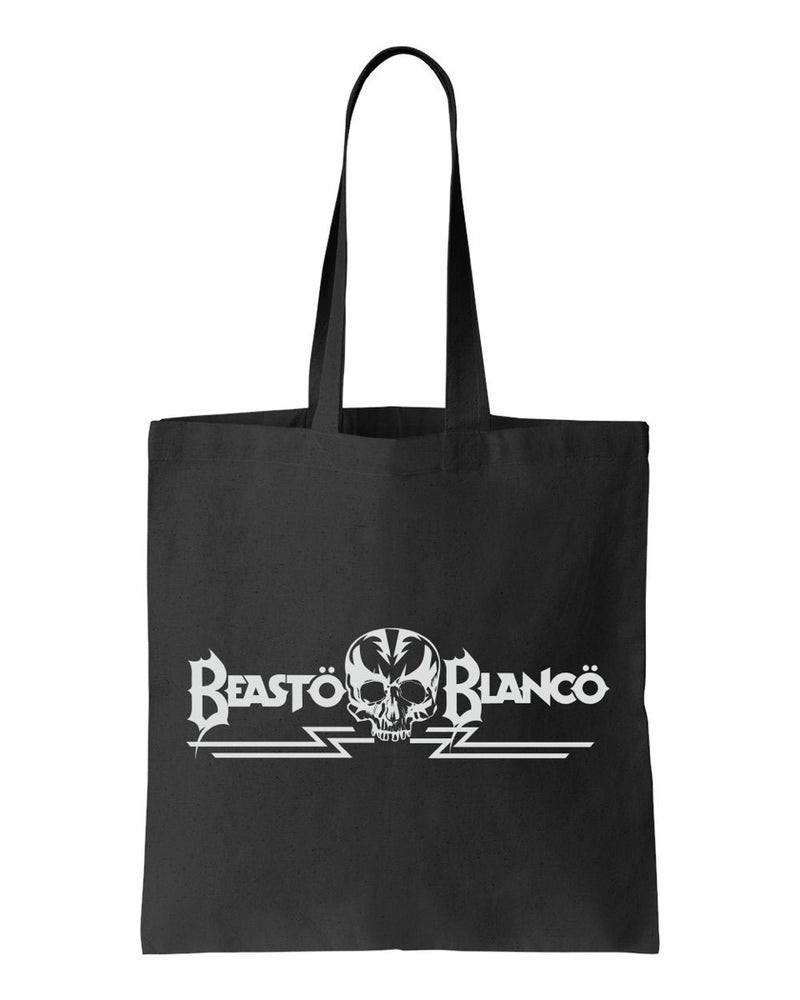"Image of OFFICIAL - BEASTO BLANCO - ""BB SKULL"" LOGO BLACK BAG"