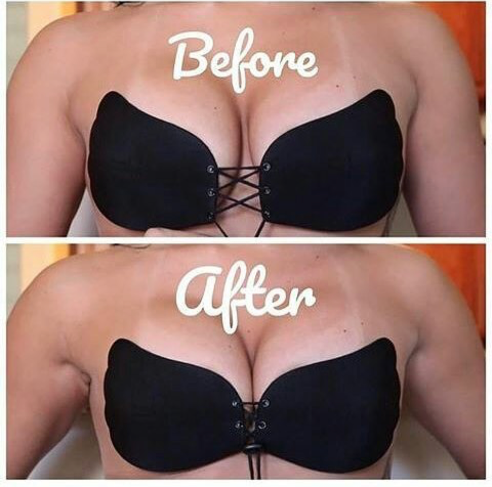 Image of RESTOCKED New Butterfly Strapless Bra