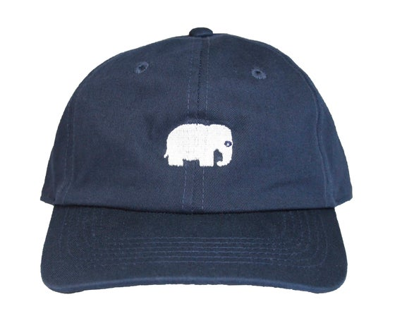 Image of Elephant Polo Hat (Navy)