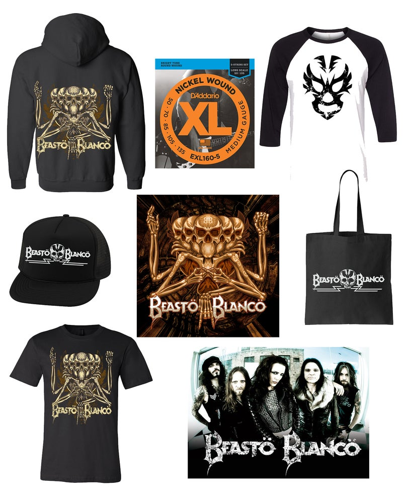 Image of OFFICIAL - BEASTO BLANCO - BASS STRING BUNDLE