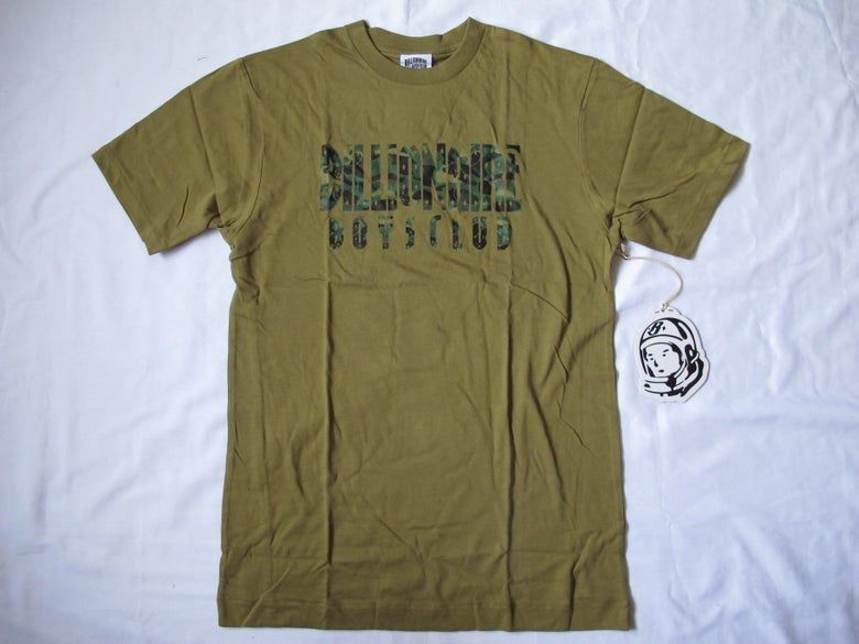 Image of Billionaire Boys Club - Camo Straight T-Shirt (Olive)