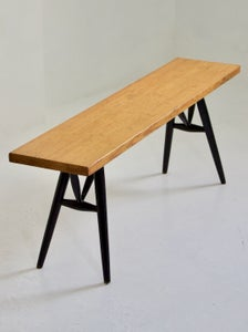 Image of Pirkka Bench by Tapiovaara, Finland 1950s