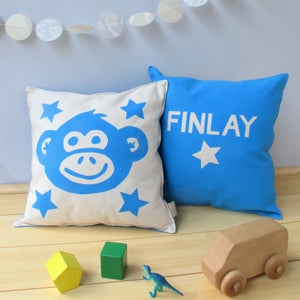 Image of Cheeky Monkey Personlised Cushion