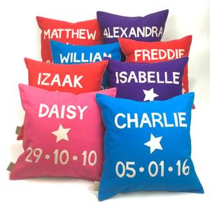 Image of Personalised Name Cushion