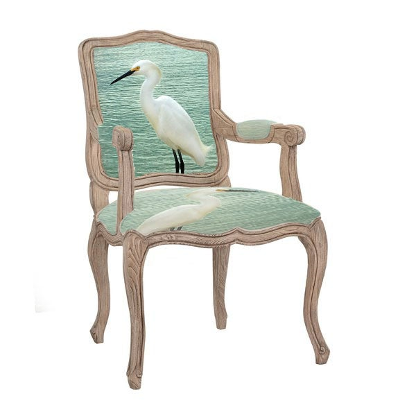 The Egret Queen Anne Chair Face Chairs Com