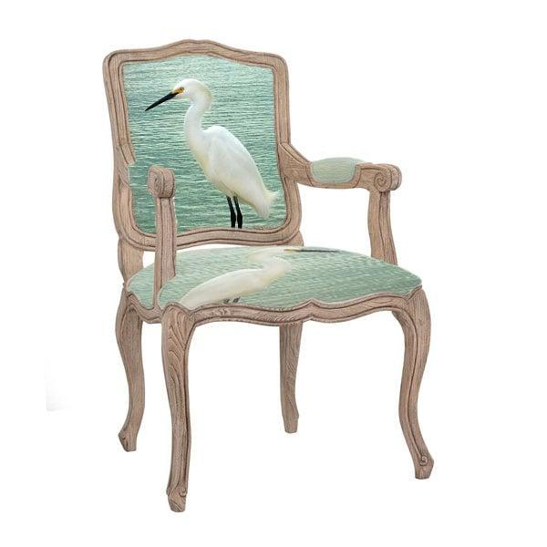 Etonnant Image Of The Egret Queen Anne Chair ...