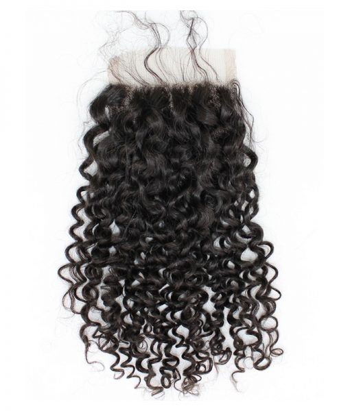 Image of Brazilian Curly Lace Closure