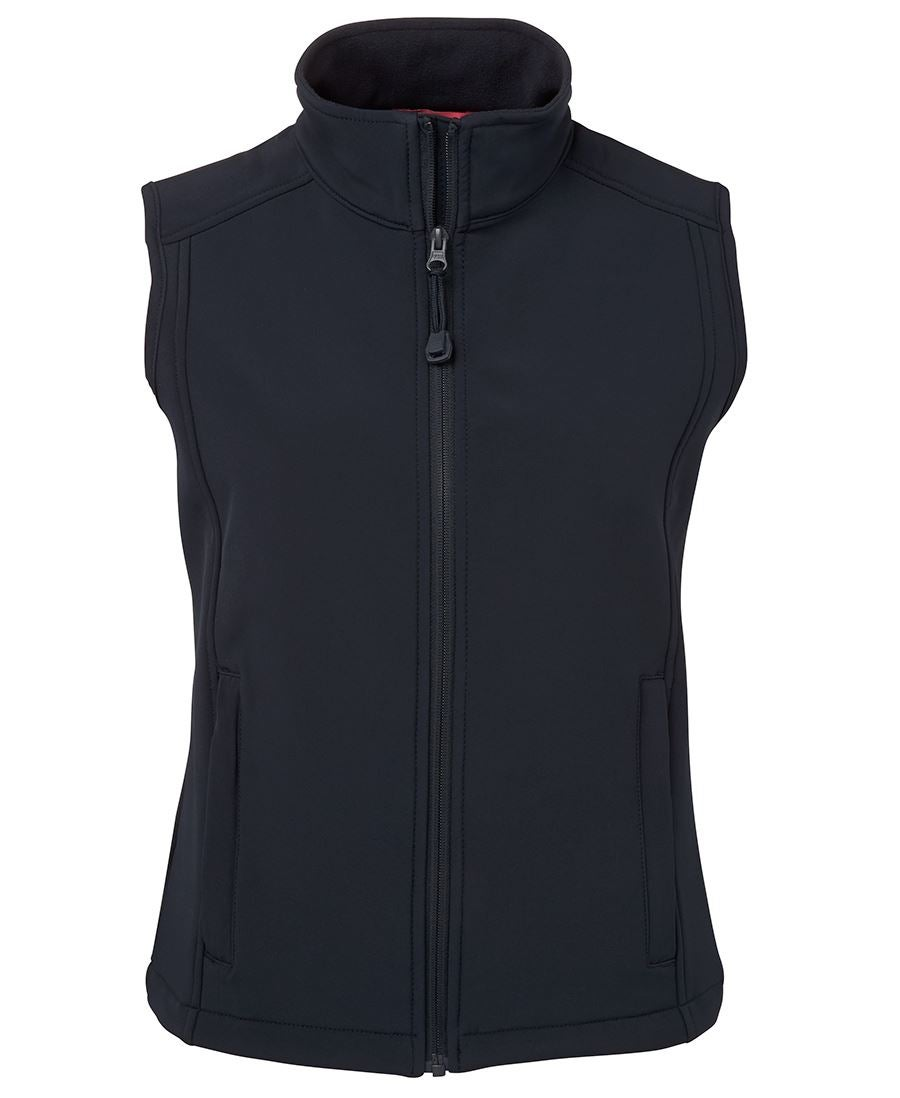 Image of Navy Soft Shell Vest - Ladies