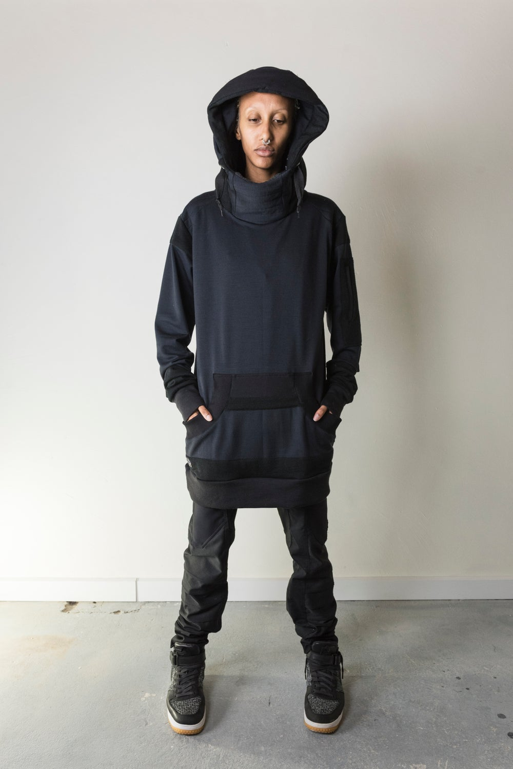 Image of MERINO_WOOL SPACELAB HOODIE