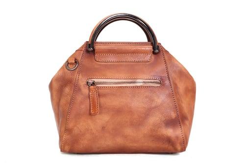 Image of Handmade Full Grain Leather Women Handbag, Designer Handbag, Leather Satchel Bag WF52