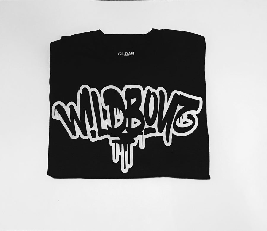 Image of W!LDB0YZ (Black Tee)