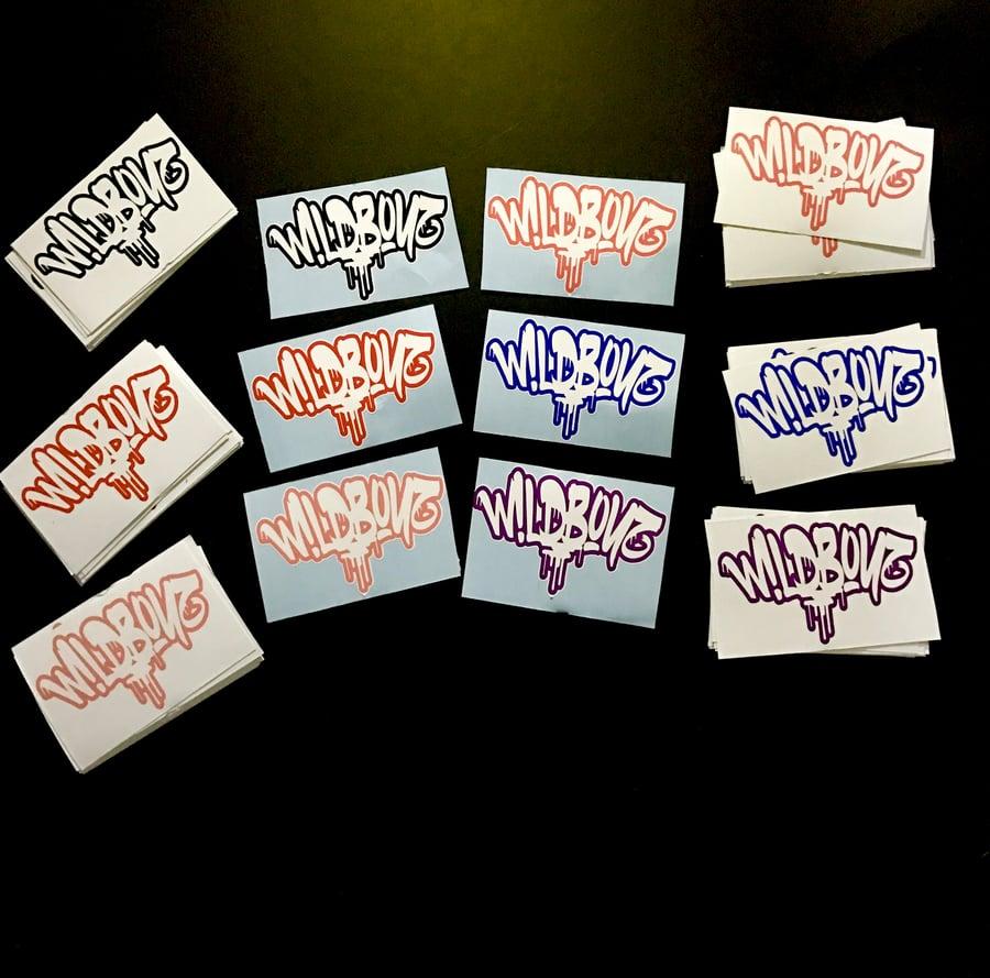 Image of W!LDB0YZ Stickers