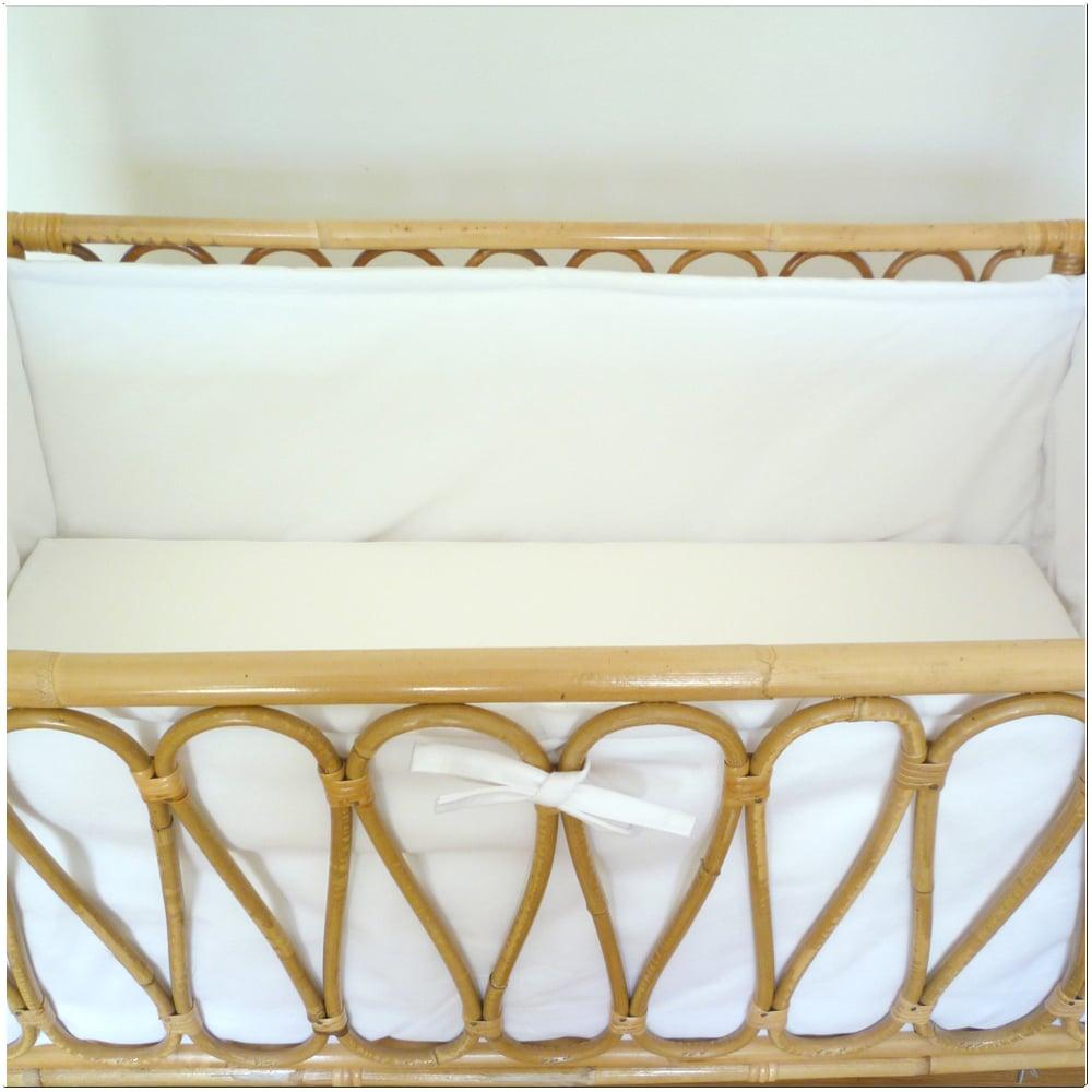 Image of Vestiduras completas a medida para cunas-minicunas rectangulares