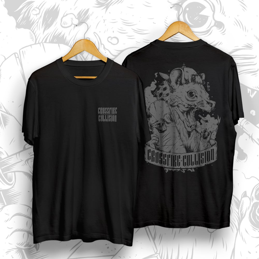 Image of Crossfire Collision Hyena Tee