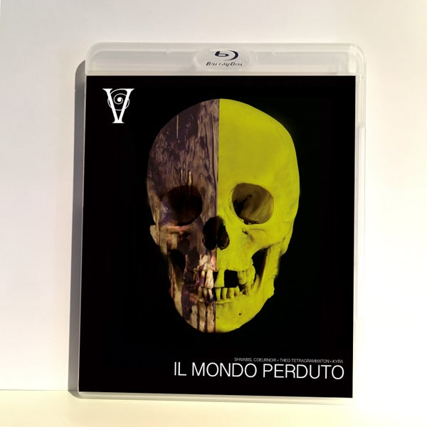 Image of IL MONDO PERDUTO - BLU-RAY-R + DVD (HD COLLECTION #9) Signed and Stamped, Limited 50, DESIGN A SKULL