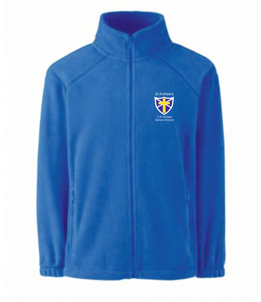 Image of St Andrews CE Full Zip Fleece