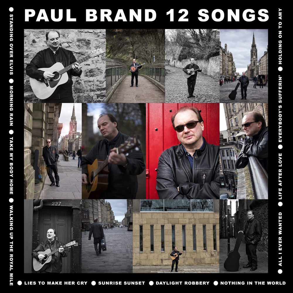 "Image of PAUL BRAND - ""12 SONGS"" - THE ALBUM"