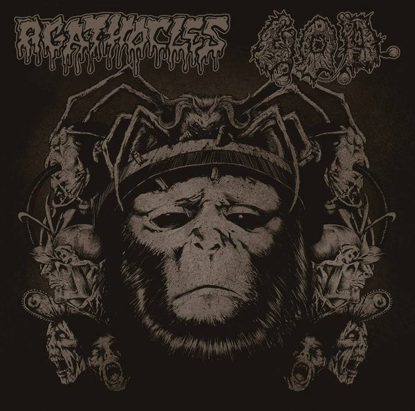 Image of Agathocles/G.O.D.- Split- CD