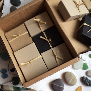 Image of Recycled gift boxes