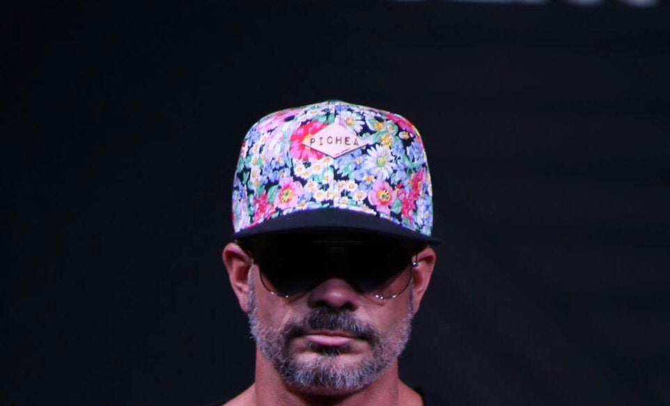 Image of Newly Handcrafted Pichea Leather Floral Snapback Hat