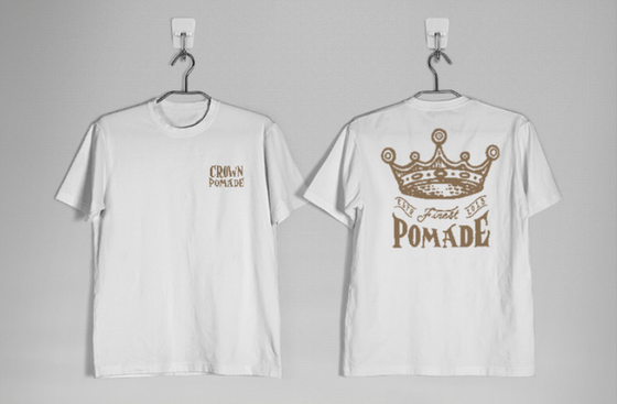 Image of White Crown T-Shirt