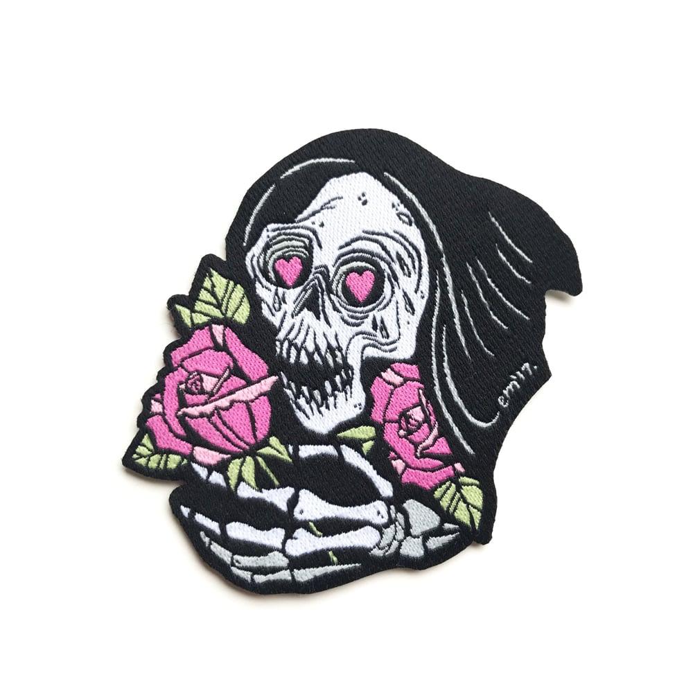 Image of Grim Romantic Woven Patch